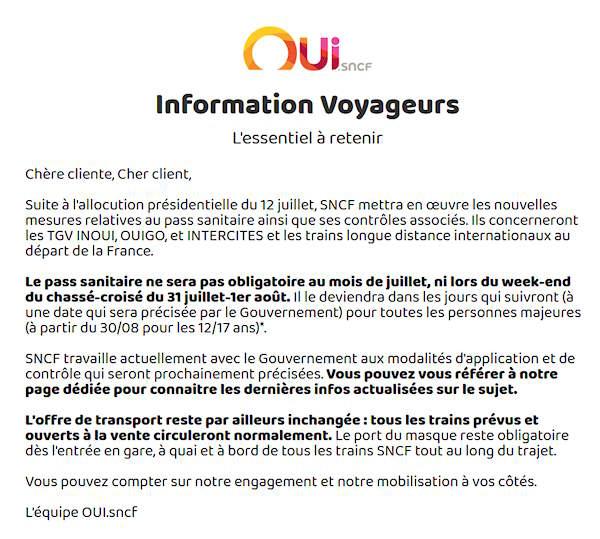 SNCF Information Voyageurs.