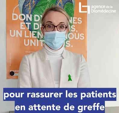 message de la directrice de l'Agence de Biomédecine